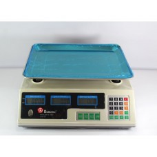 Торговые электронные весы Domotec MS-228 6V до 50 кг
