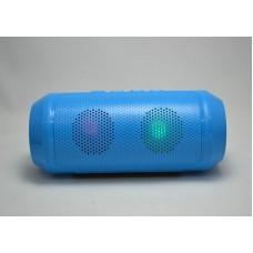 Портативная мобильная bluetooth MP3 колонка SPS Q610 BT Синяя