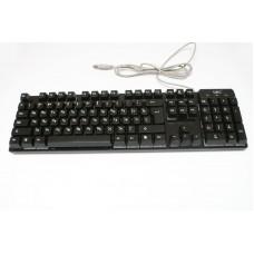 Клавиатура с цветной подсветкой USB UKC HK-6300 для ПК