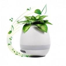 Bluetooth колонка цветочный Горшок музыкальный с LED подсветкой