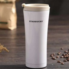 Термокружка Starbucks, Термостакан, старбакс, стакан из нержавеющей стали Белый