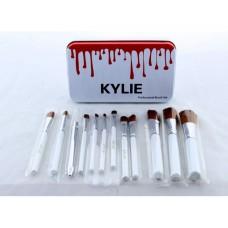 Кисти для макияжа Kylie 12 шт набор кистей кисточки 12 шт