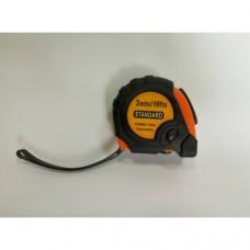 """Измерительная рулетка """"Standard"""" 3 метра с фиксатором и магнитом"""