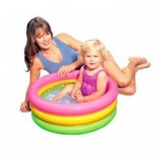 Детский надувной бассейн Intex Рассвет 57107