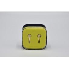 Вакуумные наушники гарнитура XIAOMI M5 Piston с микрофоном Жёлтые