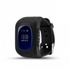 Умные Smart часы для детей с GPS трекером Baby Watch Q50 Чёрные