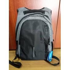 Городской рюкзак мужской Оксфорд сумка Серый