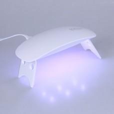 УФ лампа для гель-лака UV LED SUN mini Белый