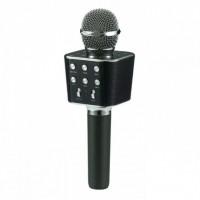 Беспроводной микрофон караоке блютуз WS-1688 Bluetooth динамик USB Чёрный