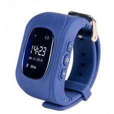 Умные Smart часы для детей с GPS трекером Baby Watch Q50 Синие