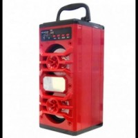 Портативная колонка Bluetooth+FM JHW-V902 Красная